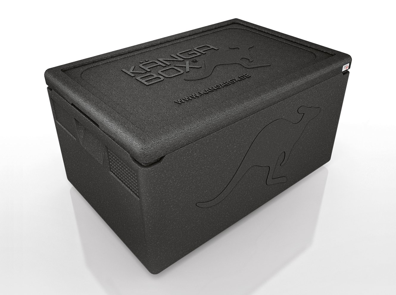 Kängabox Professional PR1260 Thermobox with Smooth Interior for GN 1/1 / Especially Easy to Clean Thoroughly / Gastronorm Format / Insulated Box for Transporting and Storing Food Such as Fish or Meat or Ice for Catering or Delivery or Parties / Available
