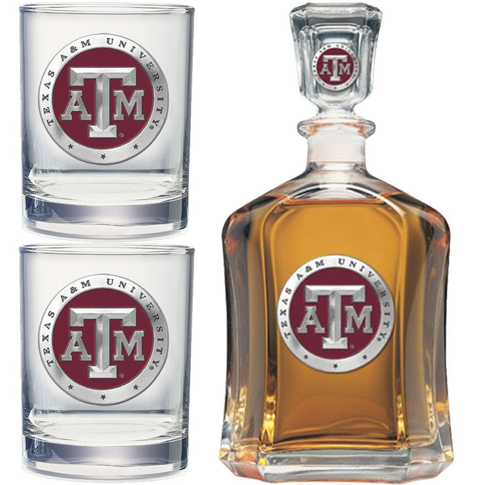 Heritage Metalwork Texas A&M Aggies Decanter and