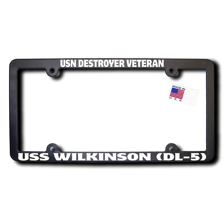 Amazon.com: USN Destroyer Veteran USS WILKINSON (DL-5) License Frame ...