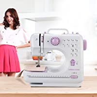 Anmas Home Mini 12 Stitch Electric Sewing Machine Household Crafting Overlock Mending Hem