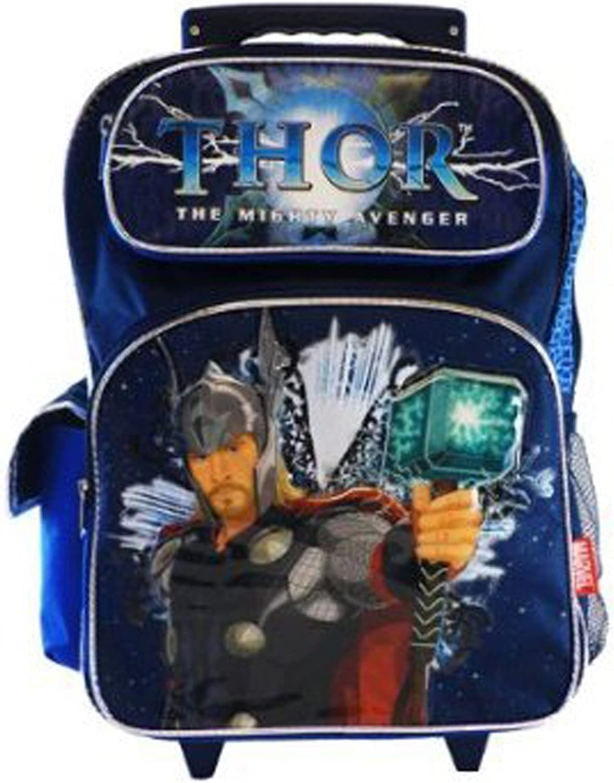 Marvel Avengers Large Kids Luggage Trolley Backpack Rucksack Bag Suitcase Wheels