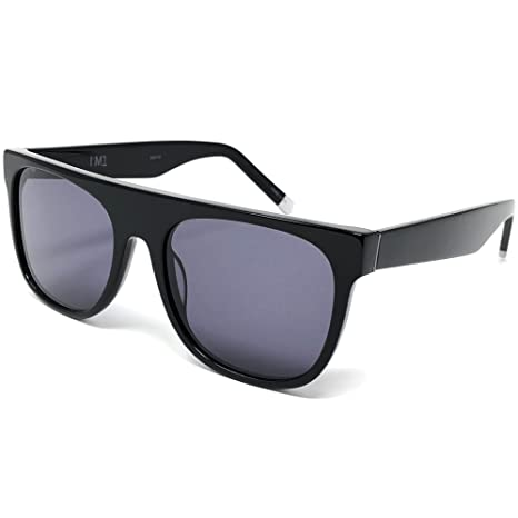 1c666727c7 Image Unavailable. Image not available for. Color  I M1 Men s Acetate  Oversize Style Sunglasses with Black Frame and Smoke Lens