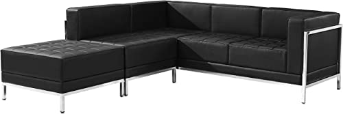 Lancaster Home Hercules Imagination Series Bonded Leather Sectional Configuration