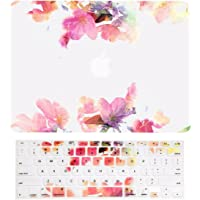 """TopCase Carcasa Superior – Carcasa rígida de Goma con Efecto Espejo Violeta Compatible con Apple MacBook Air de 13 Pulgadas, Violet Reflection, Macbook Air de 13"""""""