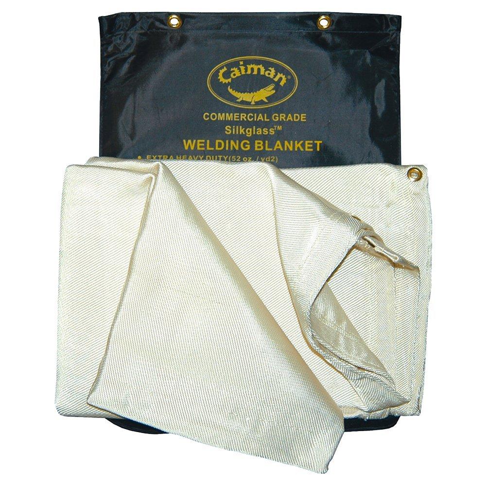 Caiman Silkglass Welding Blanket, 26 Oz, Welding-Misc. 6'X6'
