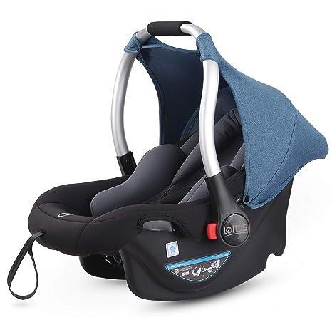 LETTAS Asiento de coche, grupo 0+ Silla para bebé de coche (de 0 a ...