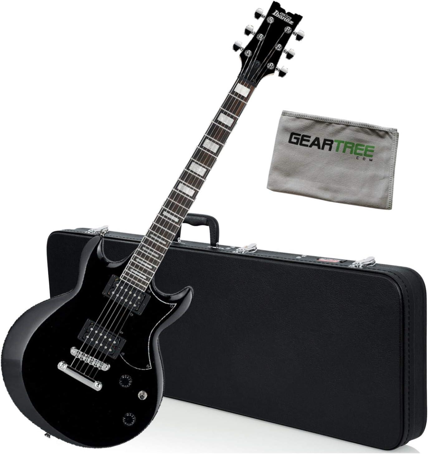 Ibanez GIO Series GAX30 BKN - Guitarra eléctrica nocturna (incluye funda rígida y gamuza), color negro: Amazon.es: Instrumentos musicales