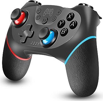 Tanouve Mando Inalámbrico Nintendo Switch, Controlador Inalámbrico ...