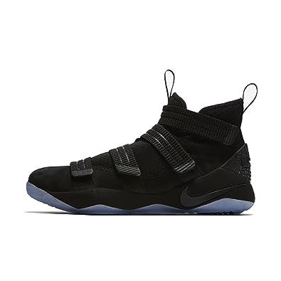 Nike LEBRON SOLDIER XI SFG mens fashion-sneakers 897646-001_9 - BLACK/BLACK