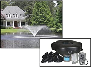 Kasco Aerating Fountain - 3/4 HP, 120V, 50-Ft. Cord, Model Number 3400VFX050