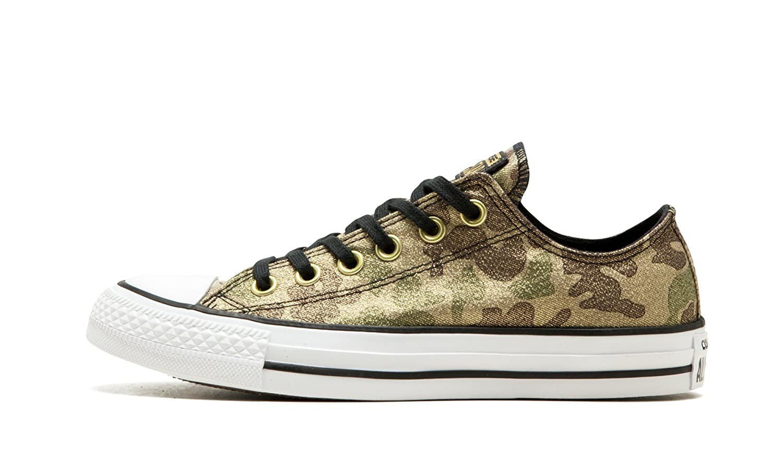 02a18453be7f Converse Chuck Taylorr All Star Lurex Camo Ox Khaki Black Gold Women s  Classic Shoes  Amazon.co.uk  Shoes   Bags