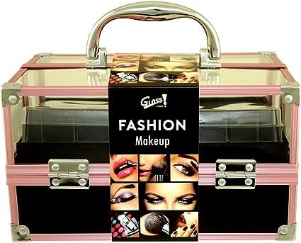 Gloss - caja de maquillaje, caja de regalo para mujeres - ¡ Set de Regalo - Set de Maquillaje - Fashion Make Up Case - 68pcs - Fashion Make Up Case: Amazon.es: Belleza