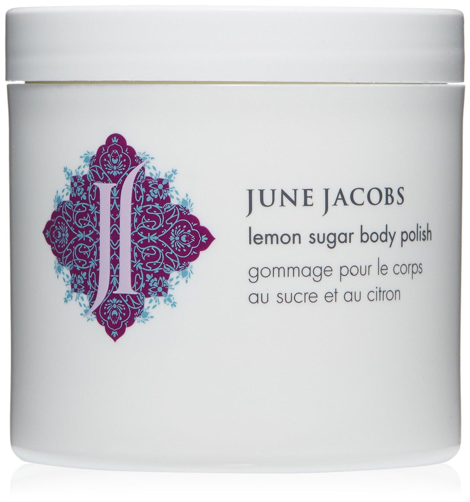 June Jacobs Lemon Sugar Body Polish, 6 Fl Oz