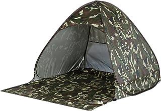OUTAD Tente Plage Pliable Abris de Plage Amovible Instantané avec Protection UV 50