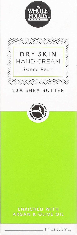 Whole Foods Market, Hand Cream, Sweet Pear, Dry Skin, 1 fl oz