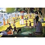 Georges Seurat (La Grande Jatte) Poster Art Print - 24x36 Poster Print by Georges Seurat, 36x24