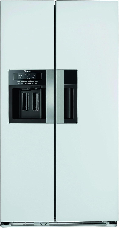 Bauknecht KSN 560 BIO A+ EW Side By Side / Kühlen: 335 L / Gefrieren: 180 L  / Edles Weiß / Wasserspender / Eiswürfelbereiter: Amazon.de:  Elektro Großgeräte