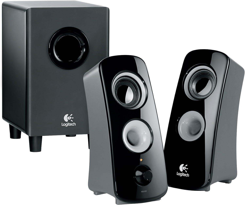 Logitech Speaker System Z323 with Subwoofer (Renewed)