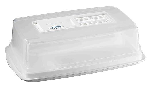 Tefal 9182012 Recipiente para quesos, Anti olores, Blanco: Amazon ...