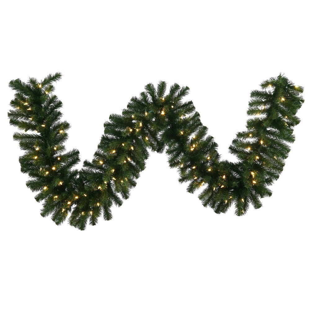 Vickerman 50' x 12'' Douglas Fir Garland with 350 Warm White LED Lights