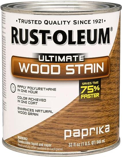 Rust-Oleum - Tinte para madera 260148 Ultimate, 946 ml, nogal ...