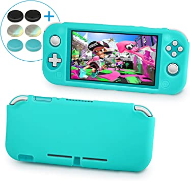 Keten Funda de Silicona para Nintendo Switch Lite, Funda Protectora de Antideslizante/Diseño Liviano para Sensación ...