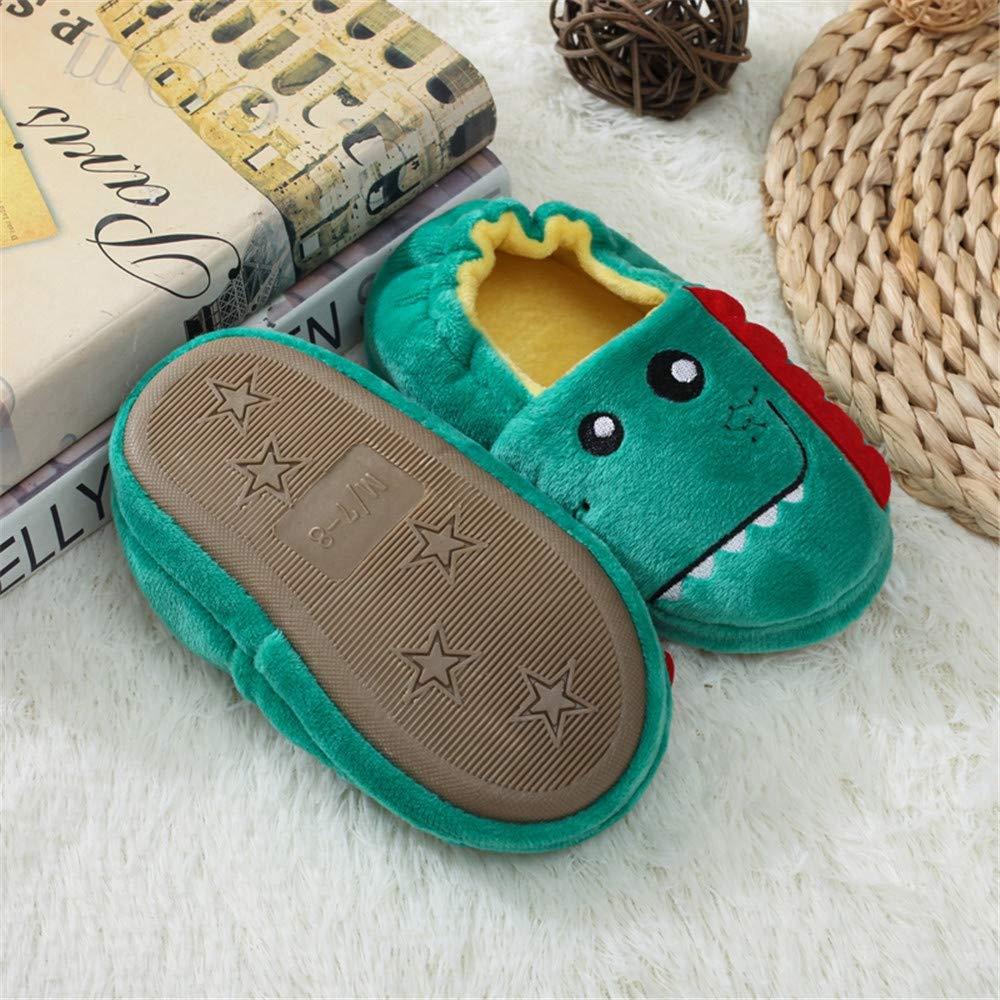 Enteer Baby Boys Dinosaur Slipper