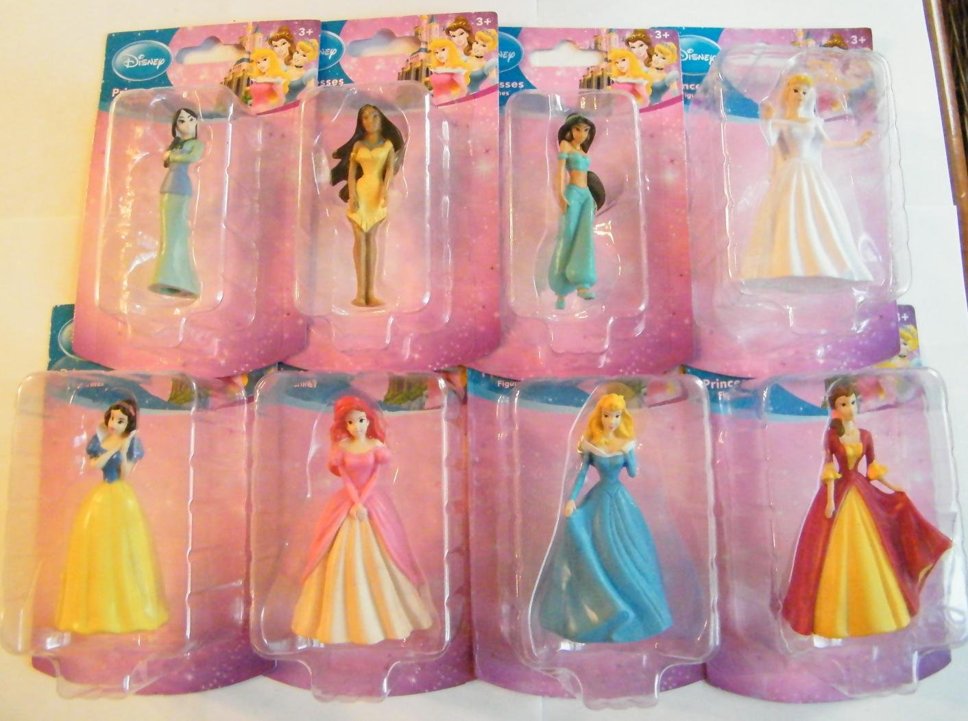 Amazoncom Disney Princess Figurines Cake Topper Belle
