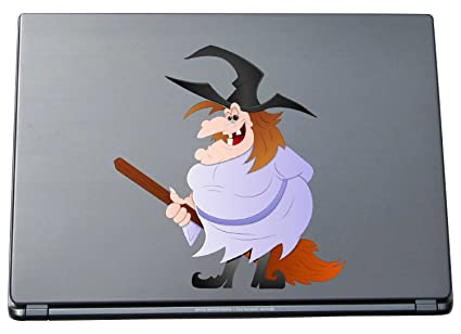 De Vinilo Adhesivo de Bruja para Ordenador portátil Notebook - 210 x 199 mm Hexe