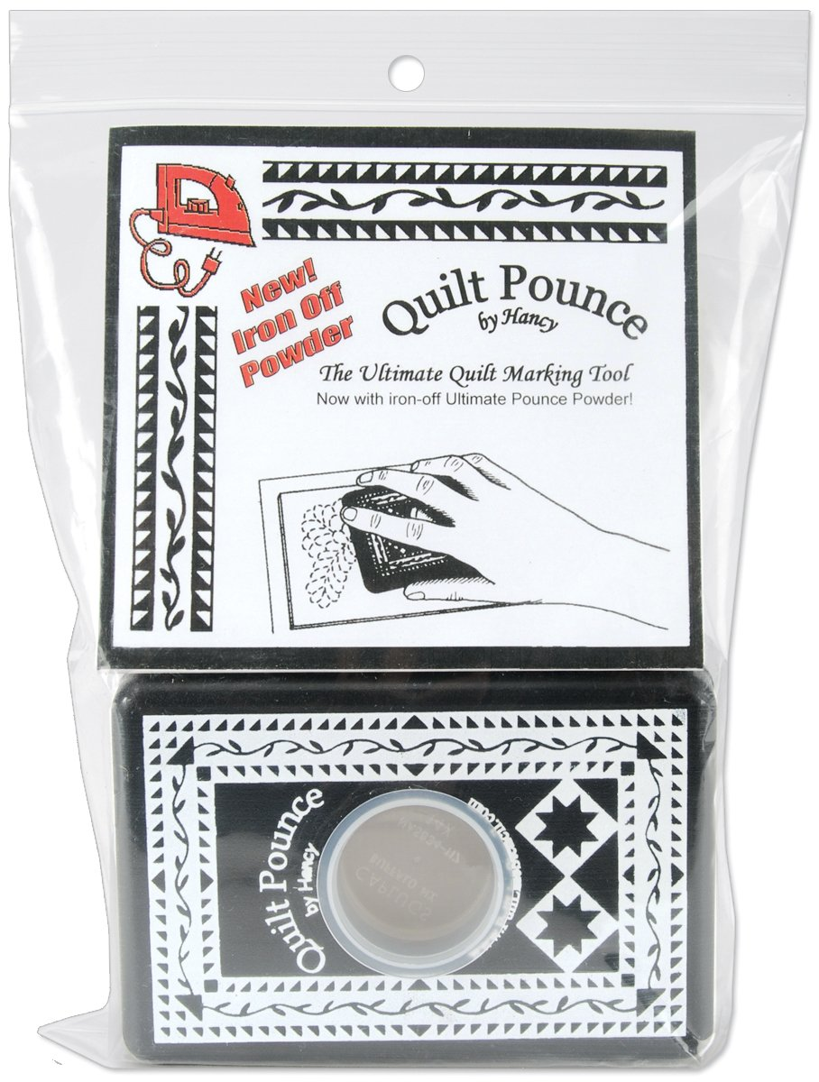 Hancy 2-Ounce Ultimate Quilt Pounce Pad with Chalk Powder, White QPU
