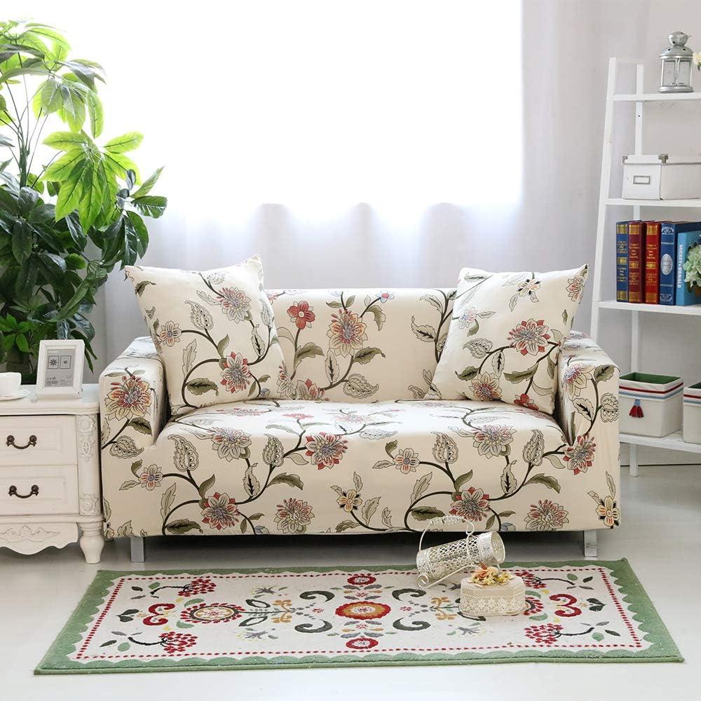 2//3 élastique canapé couvre Super Doux Crème meubles Housse antiglisse Sofa Cover