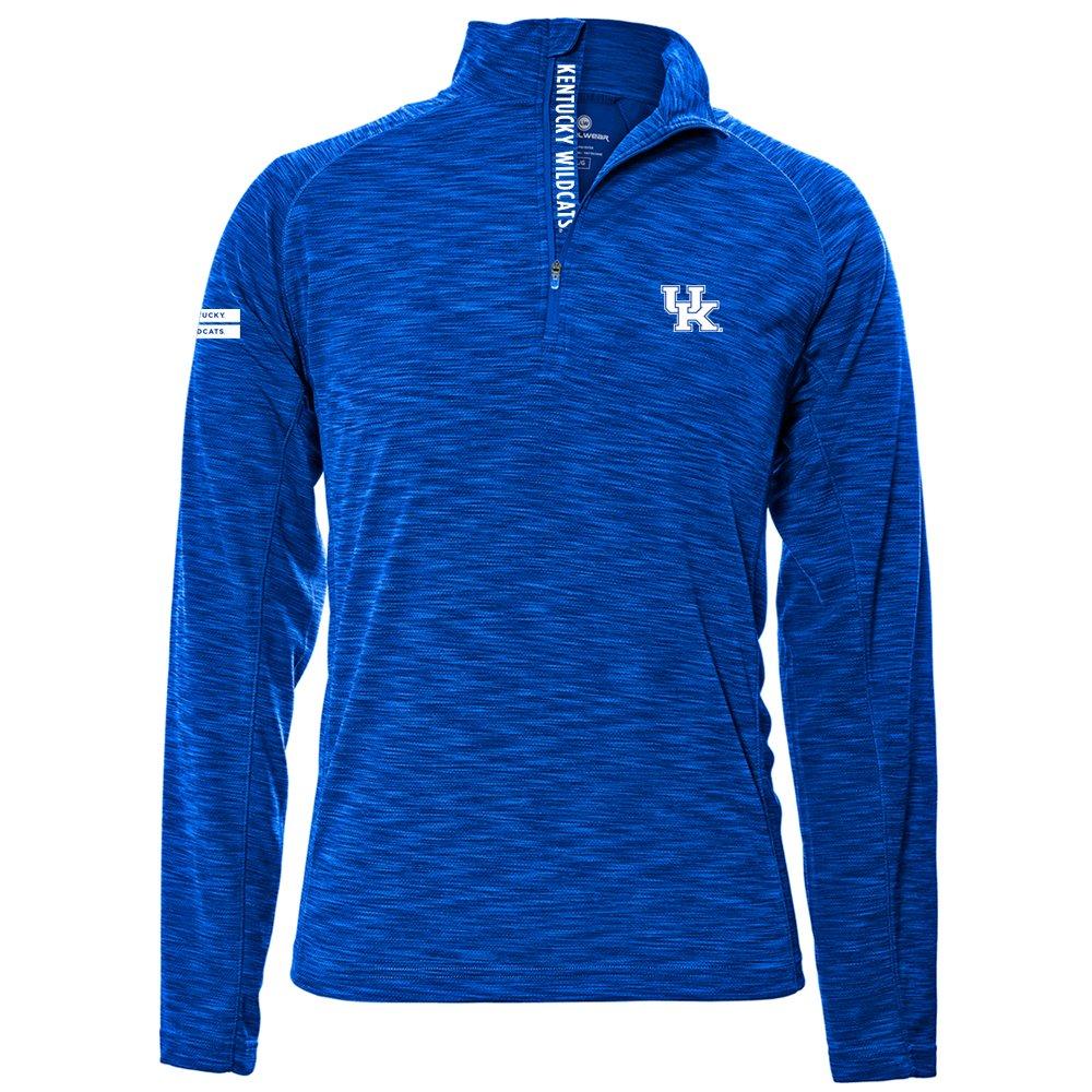 Levelwear LEY9R NCAA クオータージッププルオーバー ストロングスタイル ミッドレイヤー B074PDDYM5 Medium|ロイヤルブルー|Kentucky Wildcats ロイヤルブルー Medium
