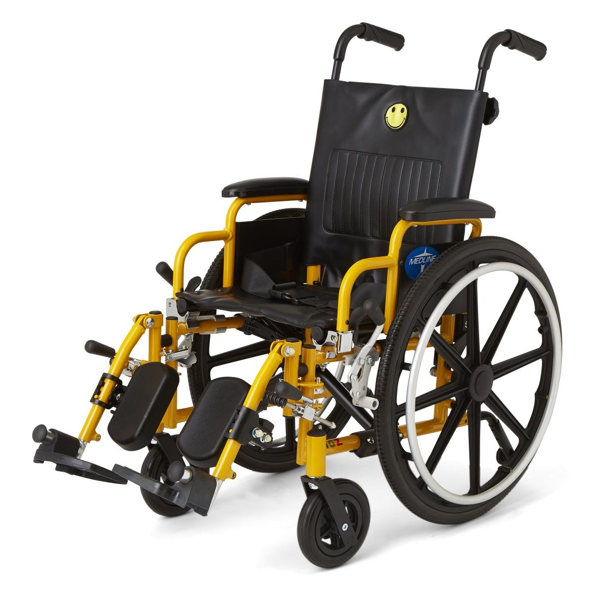 PEDIATRIC/CHILD WHEELCHAIR WHEEL CHAIR SEAT - 14'' Seat Elevating Leg Rests