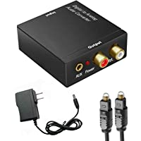 Digital to Analog Audio Converter , DAC SPDIF Coaxial Toslink Optical Convert to RCA and 3.5mm Adapter