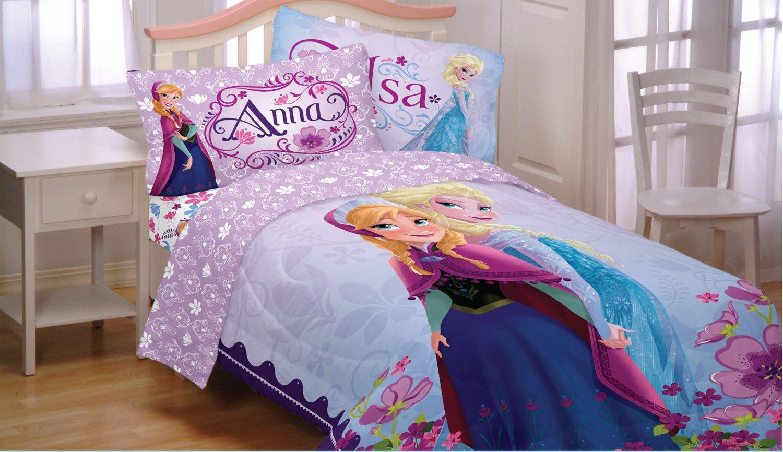 Disney Frozen Bedding Set Elsa Anna Celebrate Love Comforter and Sheets