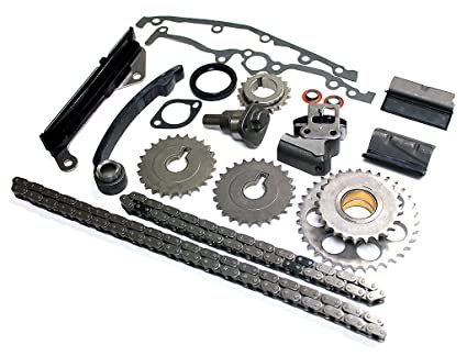 Nissan Full Timing Chain Kit 1 6 (1 6L) GA16DE DOHC Engine, Fits NX, 200SX,  Sentra (IF-94147S)