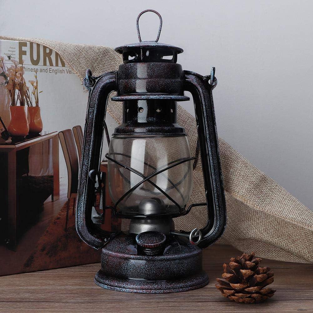 COOBNO Retro Oil Lamp Kerosene Citronella Storm Lantern Hurricane Lantern Lamp Vintage Style Kerosene Lamp Classic Storm Lantern