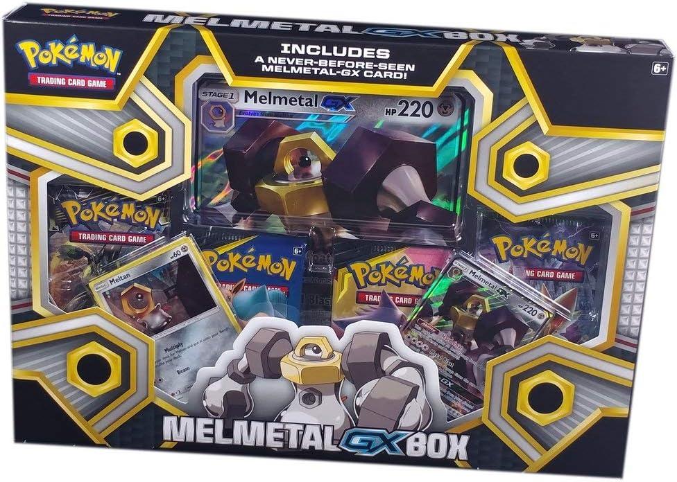 Pokemon JCC- Caja colección melmetal-gx - español. (The Pokemon Company POGX1903): Amazon.es: Juguetes y juegos