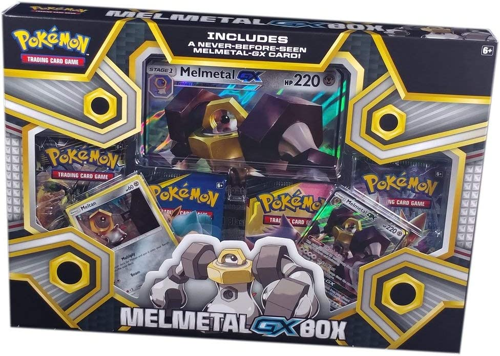 Pokemon JCC- Caja colección melmetal-gx - español. (The Pokemon ...