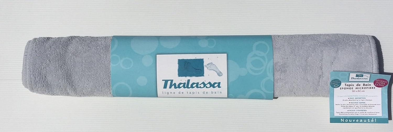 Alpi Bianco Tappeto da Bagno in Microfibra Super Assorbente Ultra Morbido Fidji Blu Scuro