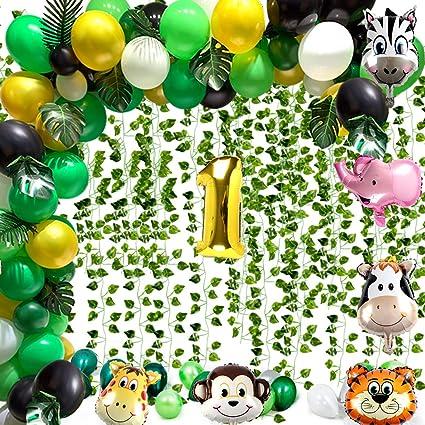 Amazon.com: 161 piezas de decoración de fiesta temática de ...