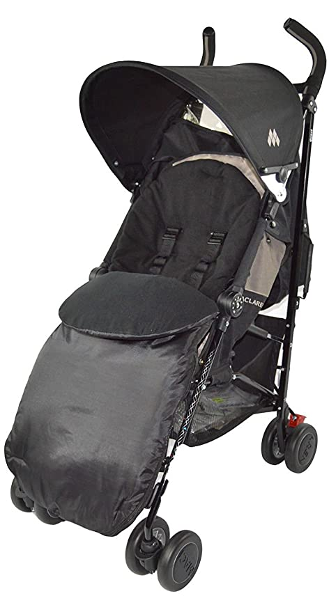 Footmuff Cosy Toes Compatible with Graco Evo Pushchair Black Jack