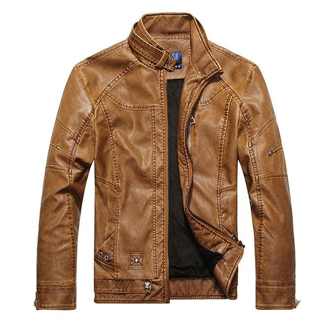 3df42e37264 Musamk Dashing Men Motorcycle Biker leather jacket mens jaqueta de couro  masculina leather jacket Windbreak coats