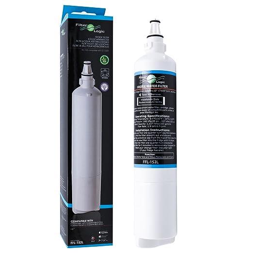 FilterLogic FFL-152L Filtro de agua frigorífico compatible con LG ...