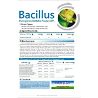 Insecticida de gusanos Bacillus thuringiensis 32000UI/MG 25g, 2
