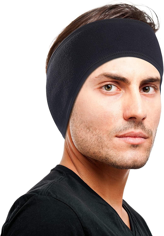 Details about  /Women Men Ear Warmer Headband Winter Headband Fleece Headband for Outdoor Sports