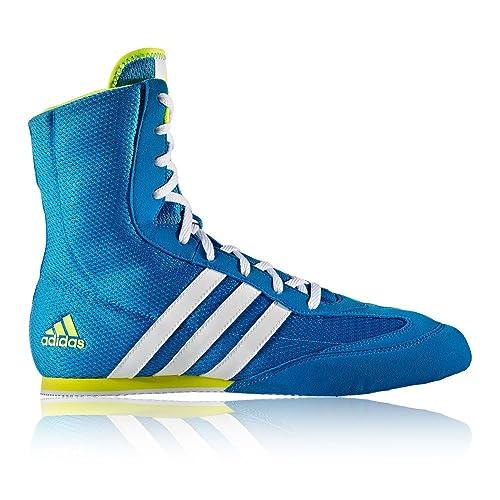Adidas, scarpe da box Hog, unisex, per adulti, Blu (Blue)