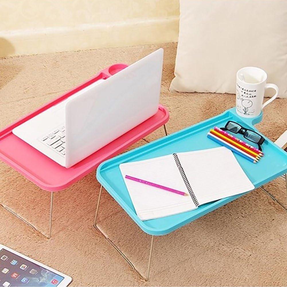 collectsound Tablet Vassoio da Letto Pieghevole Tavolo scrivania Computer Notebook Tray Piattaforme Supporti Lapdesks Green