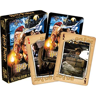 Aquarius Harry Potter & the Sorcerer's Stone Playing Cards: Toys & Games