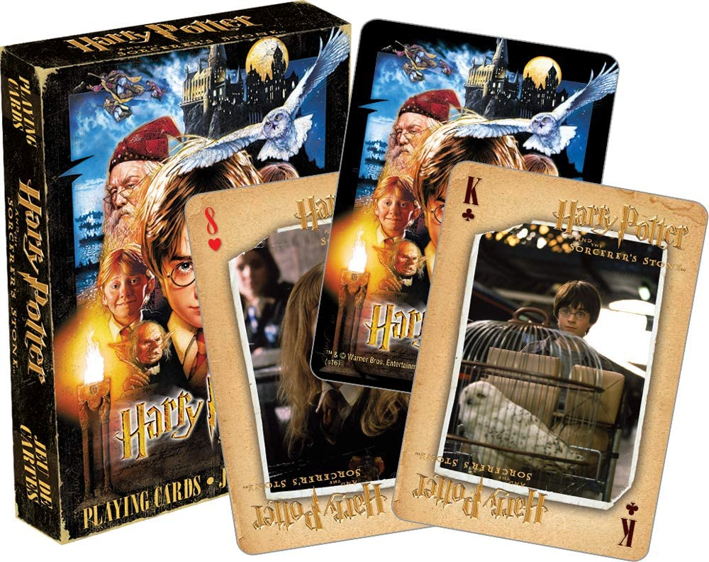 Harry Potter /& the Sorcerers Stone Playing Cards by Aquarius